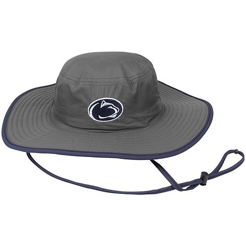 Men's Top of the World Charcoal Penn State Nittany Lions Chili Dip Boonie Bucket Hat
