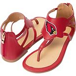 Women's Cuce Arizona Cardinals Gladiator Sandals