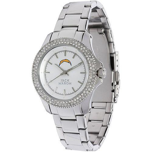 Women's  Los Angeles Chargers Glitz Bracelet Watch