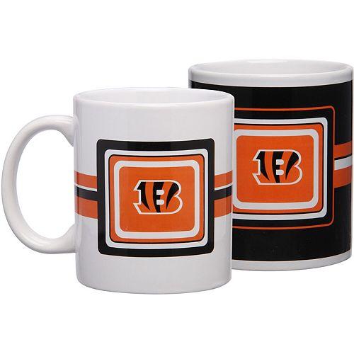 Cincinnati Bengals 11oz. Two-Pack Mug Set