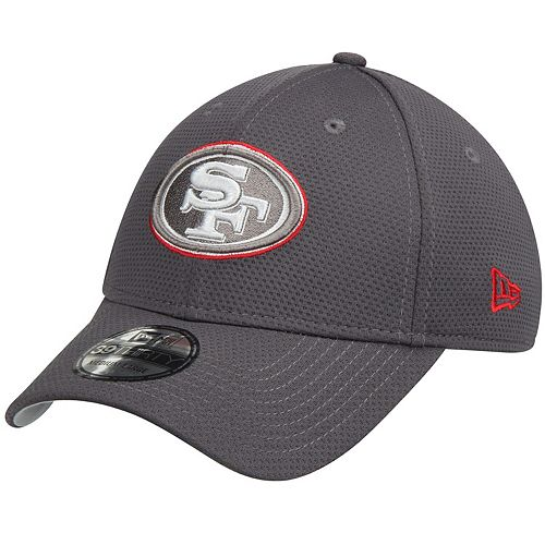Men's New Era Graphite San Francisco 49ers Tone Tech Redux 39THIRTY Flex Hat