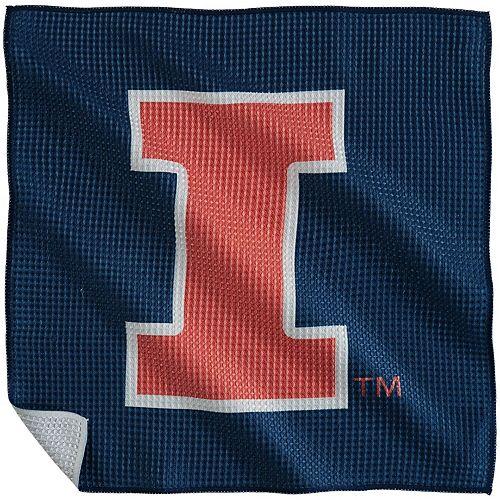 """Illinois Fighting Illini 16"""" x 16"""" Microfiber Towel"""
