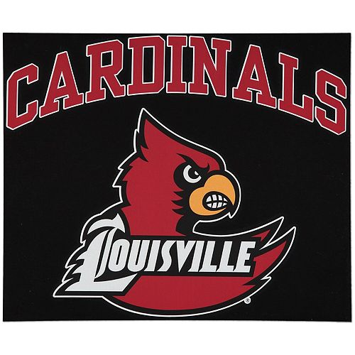 """Louisville Cardinals 12"""" x 12"""" Arched Logo Decal"""