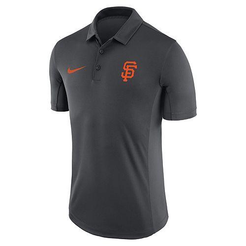 Men's Nike Anthracite San Francisco Giants Franchise Performance Polo