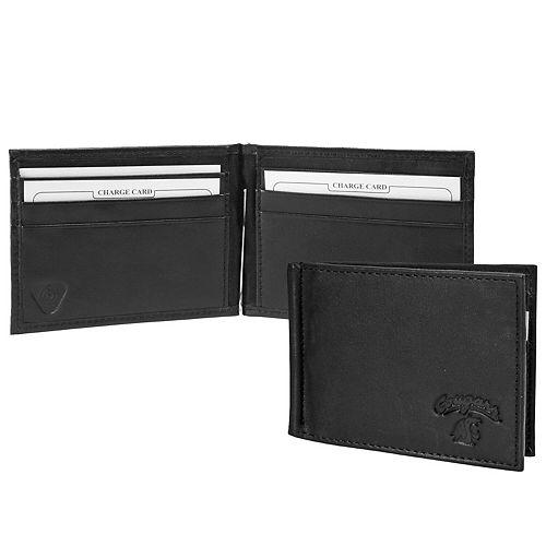Black Washington State Cougars Shield Money Clip & Wallet