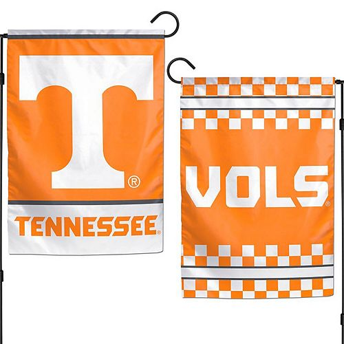 "WinCraft Tennessee Volunteers 12"" x 18"" Double-Sided Garden Flag"
