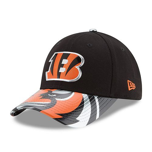 Women's New Era Black Cincinnati Bengals 2017 NFL Draft On Stage 9FORTY Adjustable Hat