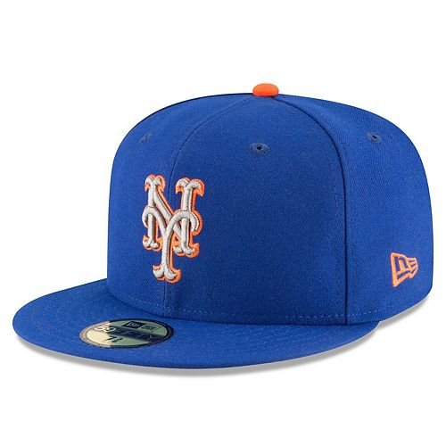 Men's New Era Royal New York Mets 2017 Authentic Collection On Field 59FIFTY Fitted Hat