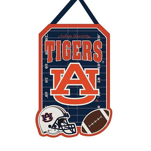 "Auburn Tigers 20.5"" x 16.5"" Felt Door Decor Wall Banner"