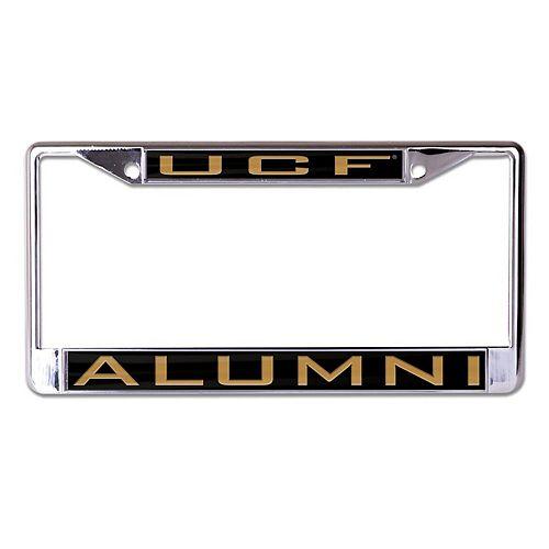 WinCraft UCF Knights Alumni Inlaid Metal License Plate Frame