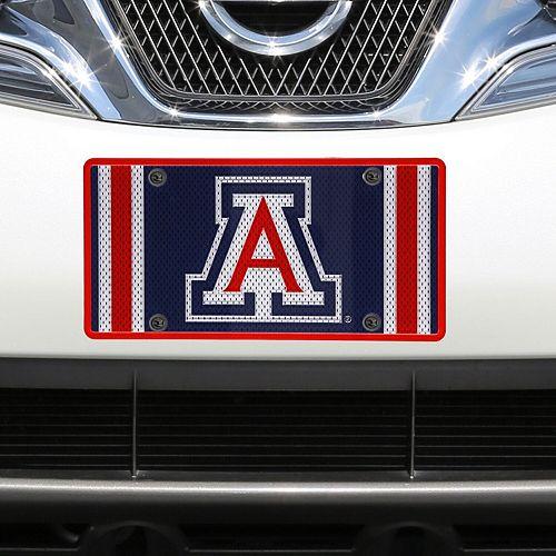 Arizona Wildcats Jersey Acrylic Laser-Cut License Plate