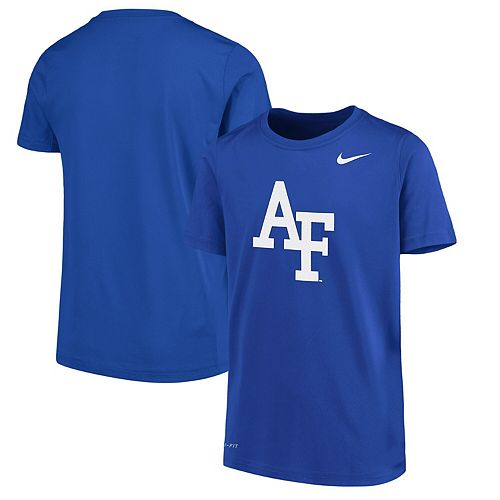 Youth Nike Royal Air Force Falcons Logo Legend Dri-FIT T-Shirt