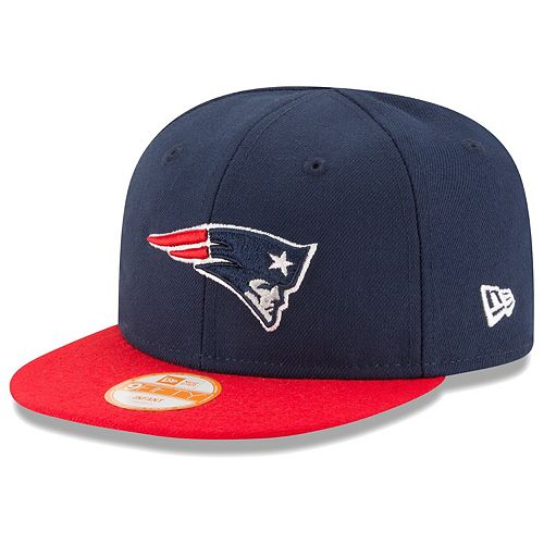 Infant New Era Navy/Red New England Patriots My 1st 9FIFTY Snapback Adjustable Hat
