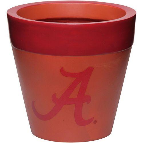 Alabama Crimson Tide Team Planter Flower Pot