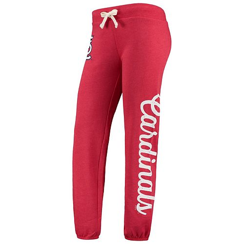 Women's G-III 4Her by Carl Banks Red St. Louis Cardinals Scrimmage Pants -