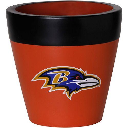 Baltimore Ravens Team Planter Flower Pot