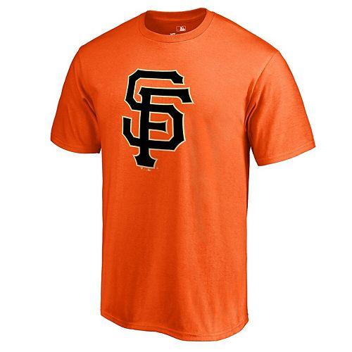 Men's Fanatics Branded Orange San Francisco Giants Primary Logo T-Shirt