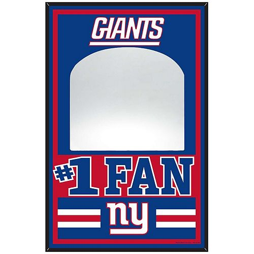 """WinCraft New York Giants 11"""" x 17"""" Wood Sign with Mirror"""