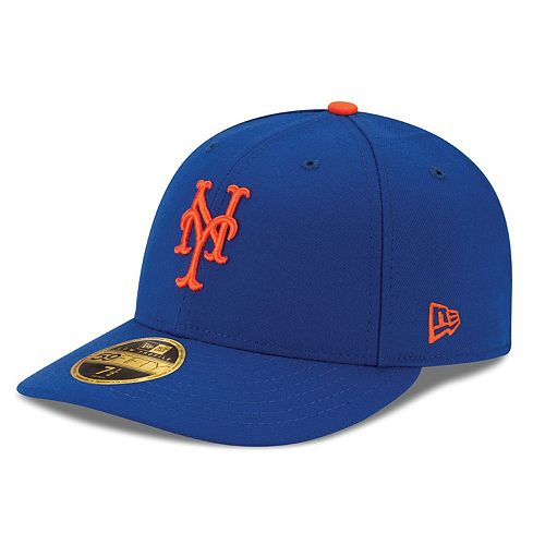 Men's New Era Royal New York Mets Authentic Collection On Field Low Profile Game 59FIFTY Fitted Hat