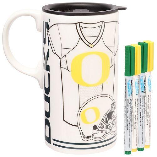 Oregon Ducks Just Add Color Tall Boy Mug