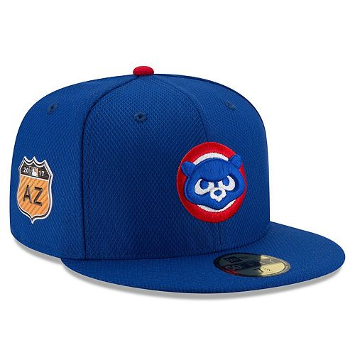 Men's New Era Royal Chicago Cubs 2017 Spring Training Diamond Era 59FIFTY Fitted Hat
