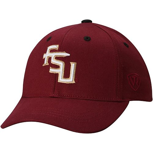 Youth Florida State Seminoles Top of the World Garnet The Rookie 1Fit Hat