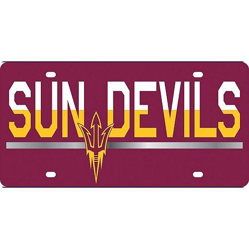 Arizona State Sun Devils DuoTone Color Acrylic License Plate