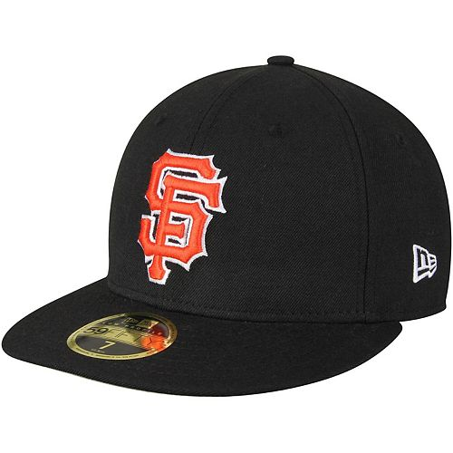 Men's New Era Black San Francisco Giants Standard 2 Low Profile 59FIFTY Fitted Hat