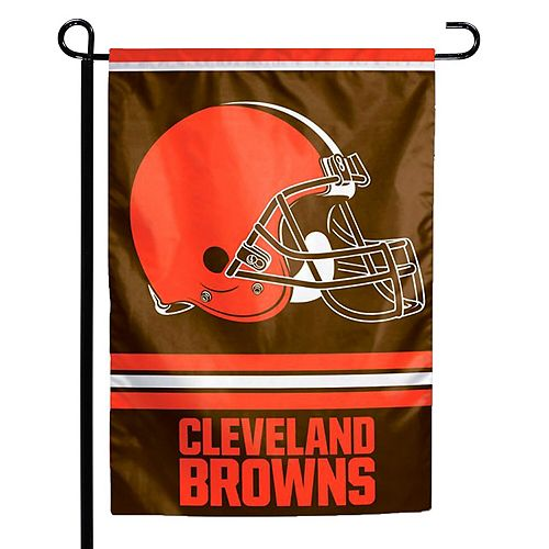 """WinCraft Cleveland Browns 12"""" x 18"""" Double-Sided Garden Flag"""