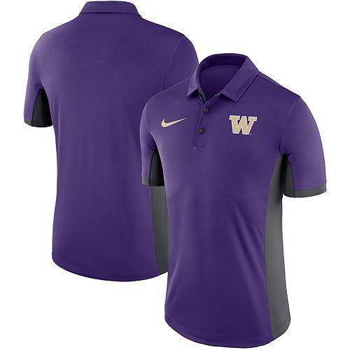Men's Nike Purple Washington Huskies Evergreen Performance Polo