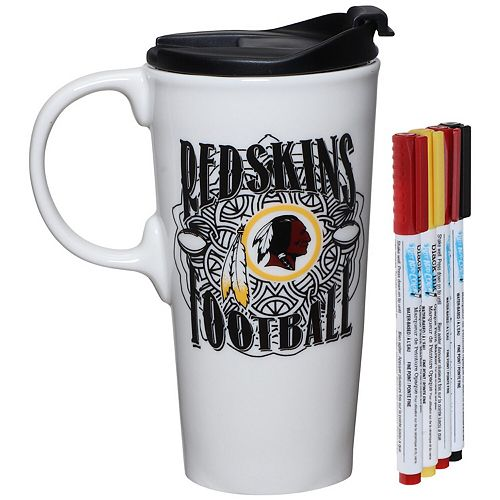 Washington Redskins 17oz. Just Add Color Perfect Cup