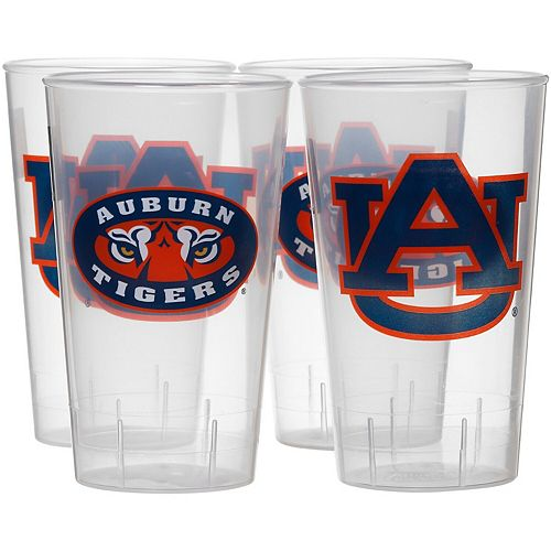 Auburn Tigers 16oz. Acrylic Tumblers 4-Pack Set