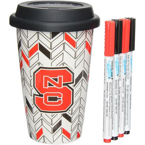 NC State Wolfpack Just Add Color Travel Cup