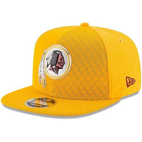 sneakers for cheap 5dae8 5a4af Men's New Era Gold Washington Redskins 2017 Color Rush 9FIFTY Snapback  Adjustable Hat