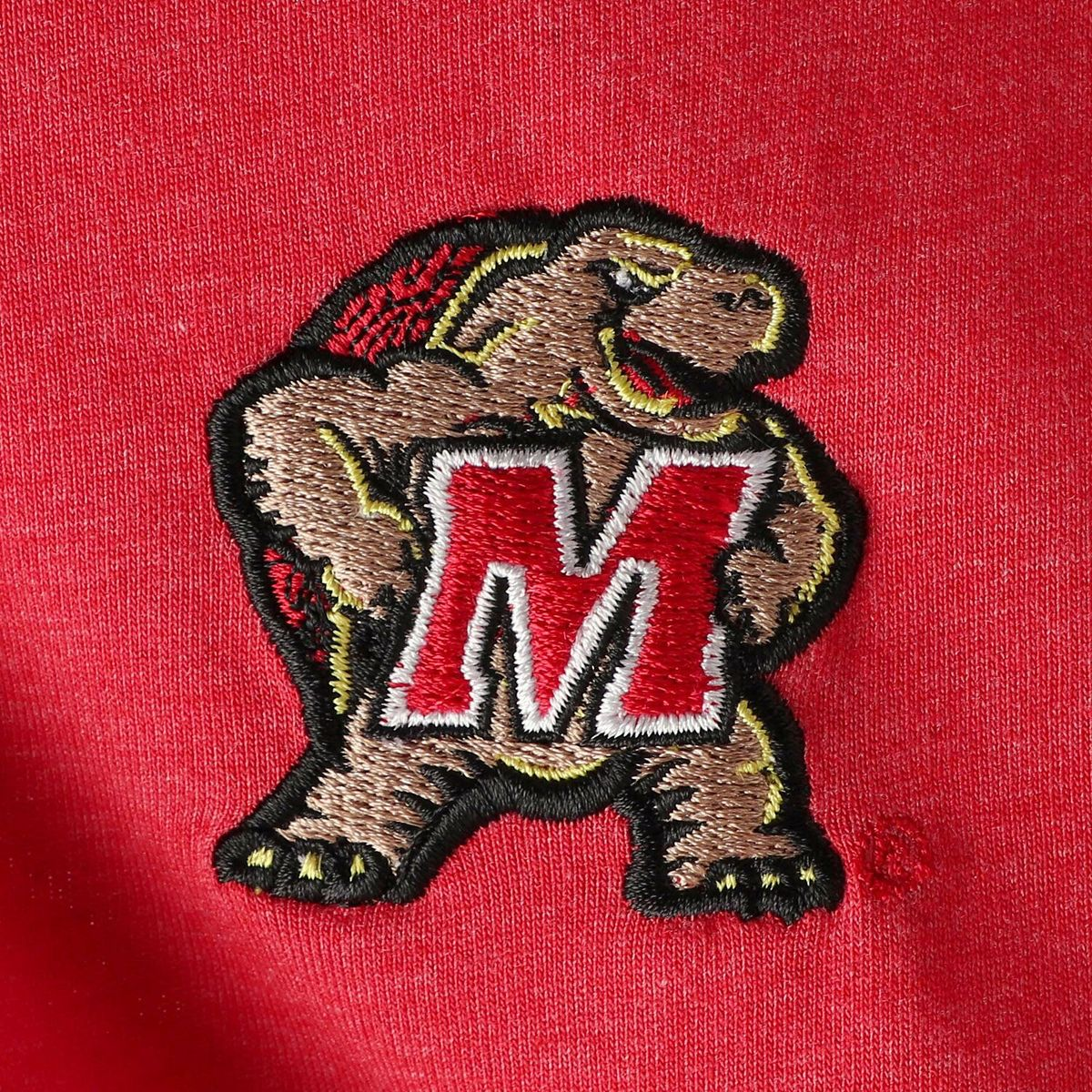 Men's Colosseum Heathered Red Maryland Terrapins I Will Not Polo IjZso