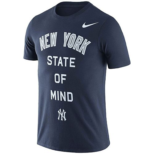 Men's Nike Navy New York Yankees NY State Local Phrase Performance T-Shirt