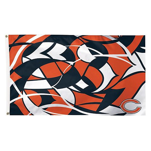 WinCraft Chicago Bears 3' x 5' NFLxFIT Deluxe One-Sided Flag
