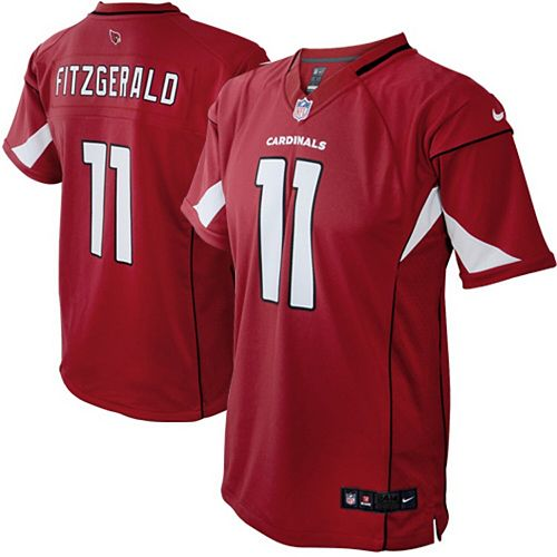 competitive price 4d2ae 99346 Infant Arizona Cardinals Larry Fitzgerald Nike Cardinal Team Color Game  Jersey