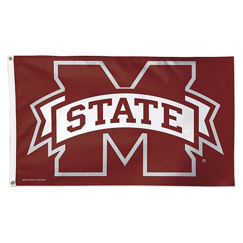 WinCraft Mississippi State Bulldogs Logo Deluxe 3' x 5' Flag
