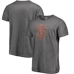 sale retailer a0577 f21d5 Men's Fanatics Branded Charcoal/Black San Francisco Giants Static T-Shirt