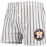 Men's Concepts Sport White Houston Astros Vigor Boxer Shorts