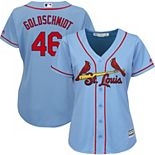 Women's Majestic Paul Goldschmidt Horizon Blue St. Louis Cardinals Cool Base Player Jersey