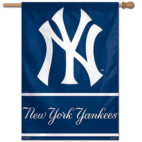 "WinCraft New York Yankees 28"" x 40"" Primary Logo with Wordmark Single-Sided Vertical Banner"