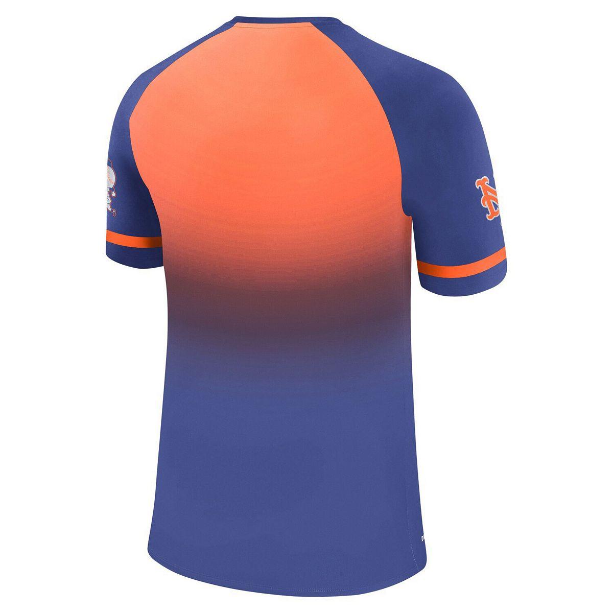 Men's Nike Royal New York Mets Legend Raglan T-Shirt 0Ldi1