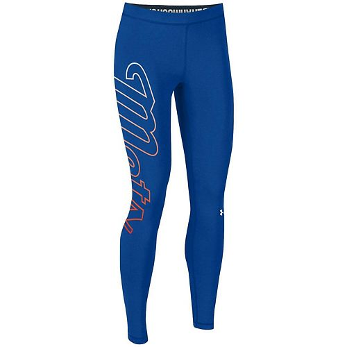 Women's Under Armour Royal New York Mets Limitless Logo Leggings