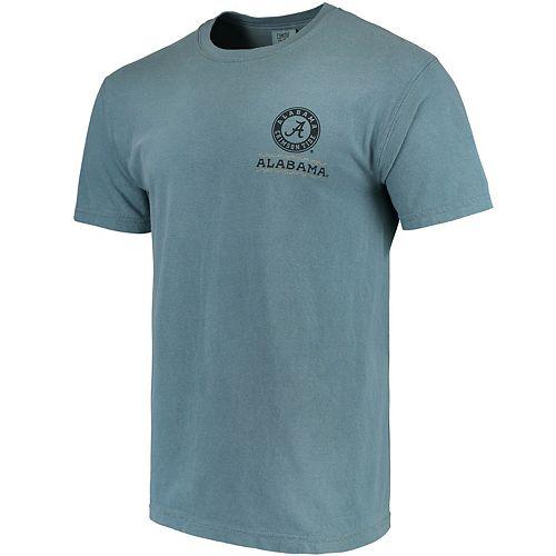 Men's Blue Alabama Crimson Tide State Scenery Comfort Colors T-Shirt