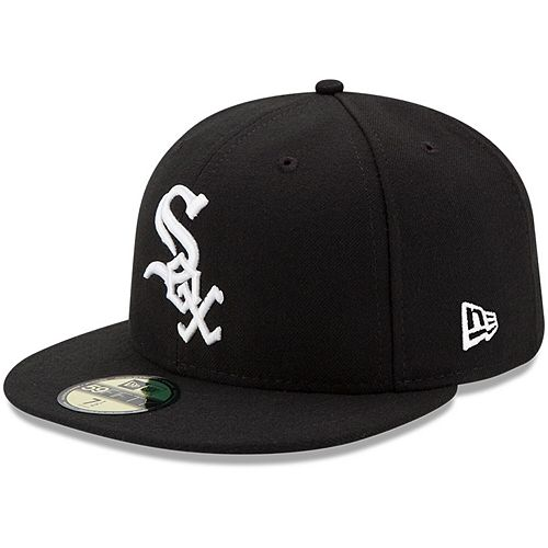 Youth New Era Black Chicago White Sox Authentic Collection On-Field Game 59FIFTY Fitted Hat