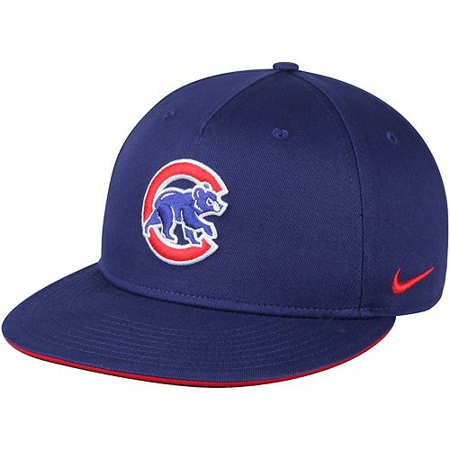 Men's Nike Royal Chicago Cubs True New Day Adjustable Snapback Hat