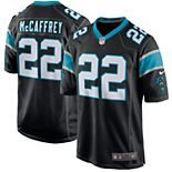 Youth Nike Christian McCaffrey Black Carolina Panthers Game Jersey