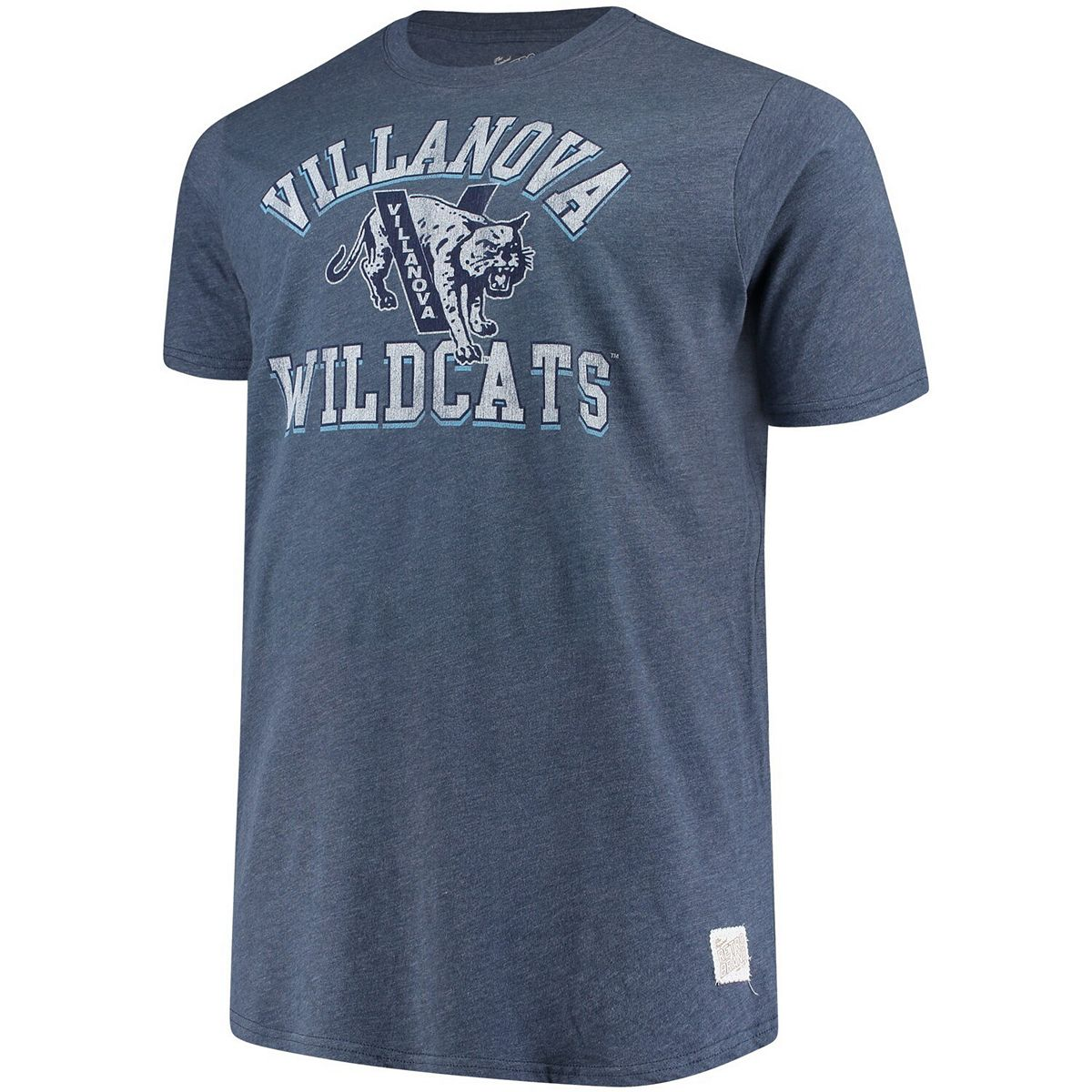 Men's Original Retro Brand Navy Villanova Wildcats Big & Tall Mock Twist T-Shirt rpwlu